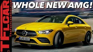 2020 Mercedes-AMG CLA 35 & A 35: Here Is Your Entry Into The AMG World!