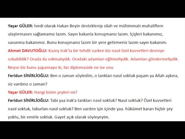 Список связей ИГИЛ-Турция