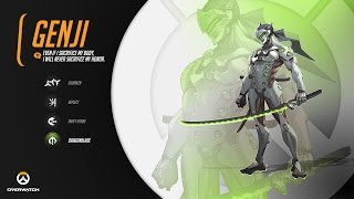 Overwatch - Genji karakter tanıtımı, kabiliyetler ve oynanış | Türkçe Overwatch rehberi!