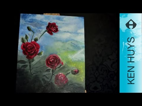 How to paint a rose (dutch) - Hoe schilder je een roos from YouTube · Duration:  14 minutes 58 seconds