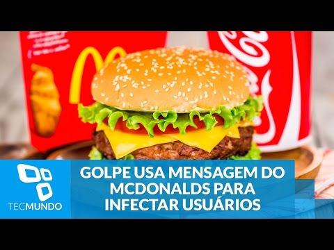 Golpe No WhatsApp Usa Falsa Mensagem Do McDonalds Para Infectar Usuários
