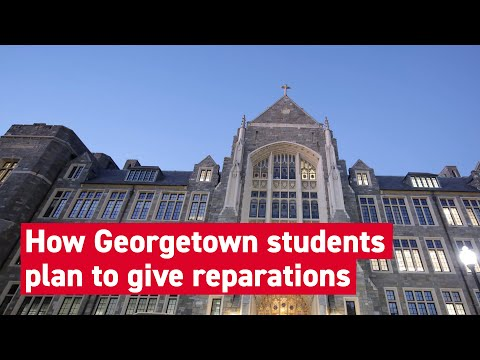 Georgetown students voted to create a reparations fund for slave descendants