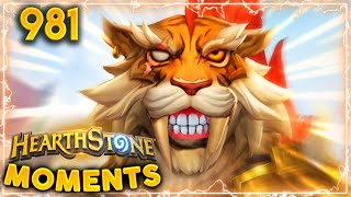 """THE MOST """"BALANCED"""" COMBO YET (If you manage to survive)   Hearthstone Daily Moments Ep.981"""