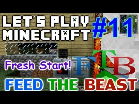 Let's Play Minecraft FTB Ep. 11 - Fresh Start