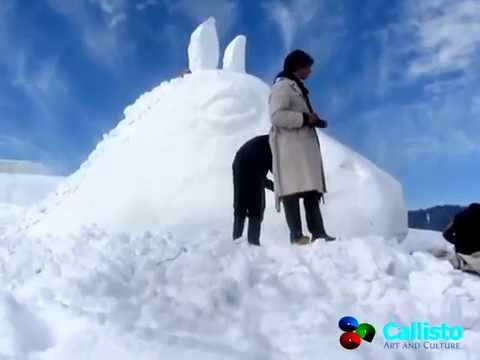snow fiesta 2014 snow sclupture