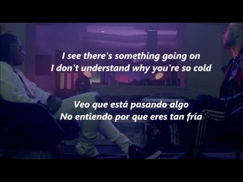 Maroon 5 Cold ft Future lyrics englishspanishLetra inglésespañol