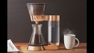 видео Капельная и гейзерная кофеварка