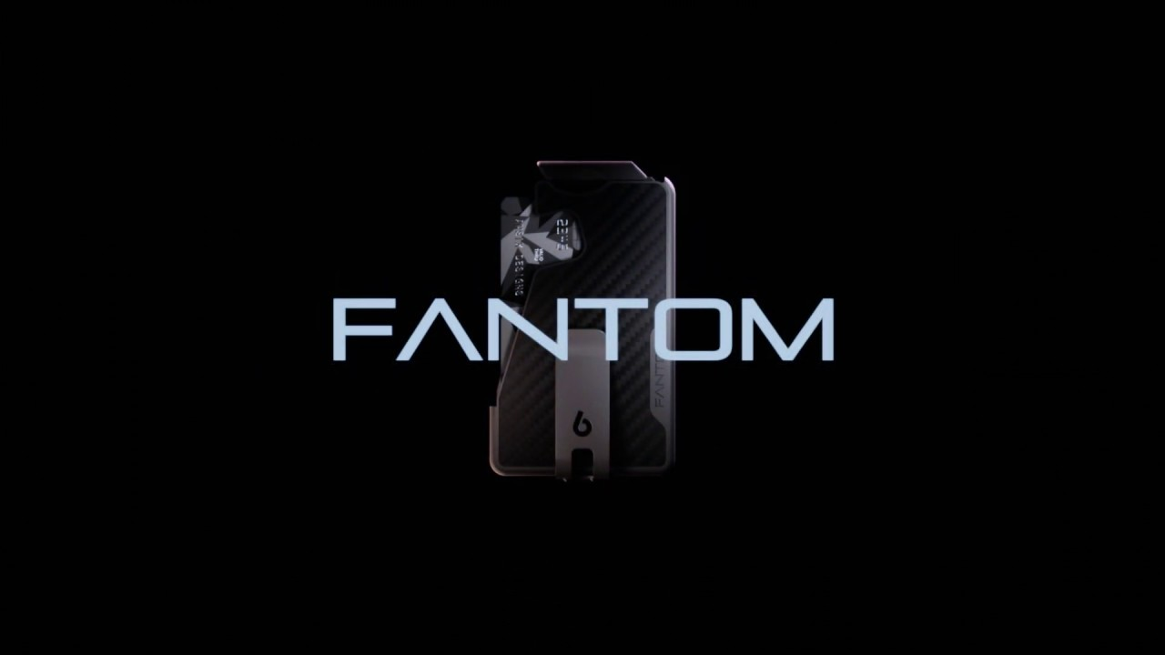 Quick Access Slim Wallet For Minimalists | Fantom Wallet