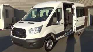 Ford Transit Cargo Bus - 2014
