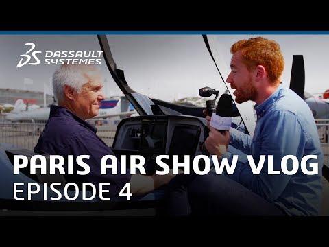 """Paris Air Show 2017 Vlog - Ep. 4 : """"Aero makes kids smile with Child Dreams"""" - Dassault Systèmes"""