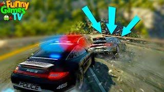 ЛОВИМ ПРЕСТУПНИКОВ видео про машинки для детей БЕШЕНЫЕ ГОНКИ тачки Need for Speed Hot Pursuit