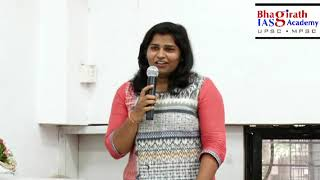 MPSC Preparation Guidance Lecture By - Amruta Sabale (Deputy Collector) 2017-18