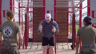 US Navy Sailor vs US Marine FEMALE EDITION | Obstacle Course Challenge