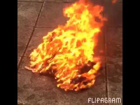 Burning my school uniform 2015😅😅🔥