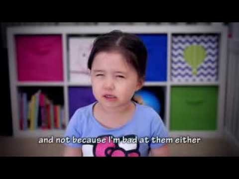 Cute Little Girl 2017 New Years Resolution Plan Inspirational Talk