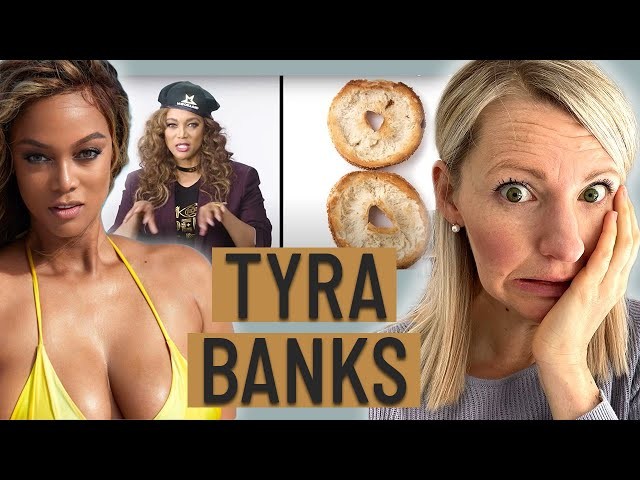 Dietitian Reacts to Tyra Banks' What I Eat in a Day (This got WEIRD Fast...)