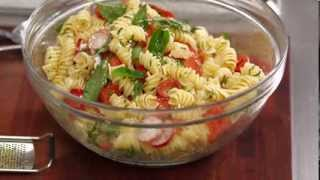 Garden Vegetable Pasta Salad With Smoked Mozarella Featuring Adam Swanson On Everyday Gourmet
