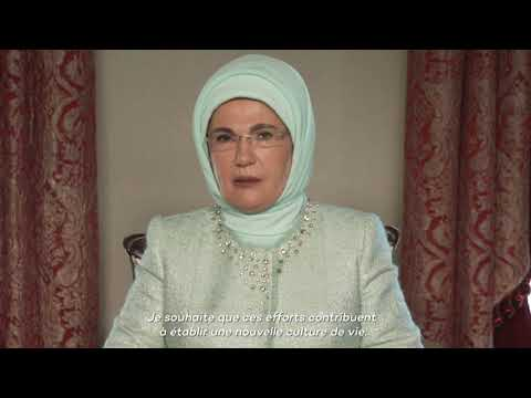 World Habitat Day Message from H.E Emine Erdoğan, First Lady Of Turkey - French