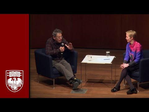 Composers Philip Glass and Augusta Read Thomas Discuss Artistic Collaboration
