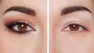 Trucco occhi: cat eyes semplice e d'effetto. Consigli per palpebra cadente
