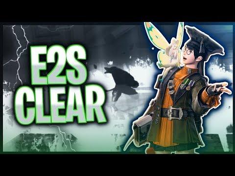 【FFXIV】E2S Clear @ 8:21 ~ Scholar PoV (7451.2 DPS)