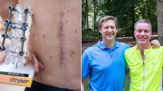 Man Paralyzed in Bike Crash to Run Half Marathon With His Surgeon