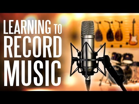 Learning to Record Music