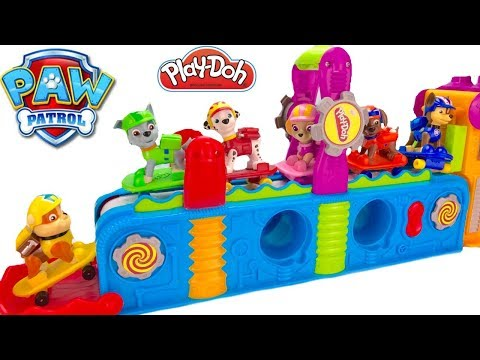 Thumbnail: Learn Colors with Paw Patrol Play Doh Mega Fun Factory | Fizzy Fun Toys