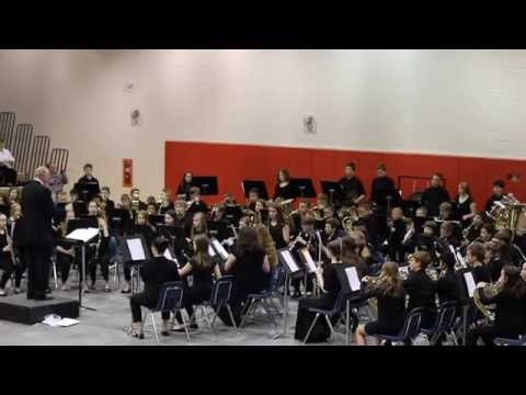 Gray MIddle School 7th Grade Band - Spania by David Shaffer
