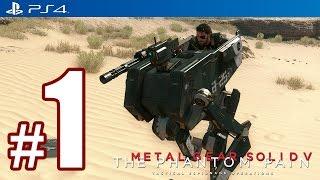 Metal Gear Solid 5: The Phantom Pain (PS4) Walkthrough Part 1 @ 1080p (60fps) HD ✔ Developer Demo