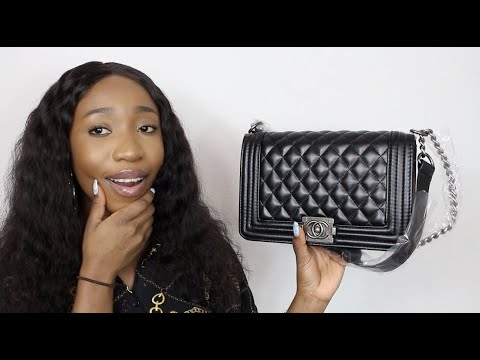 4bc185e841c9 CHANEL BOY BAG UNBOXING!!😵😅 IS IOFFER A SCAM!?😱 BOUNJE ON A ...
