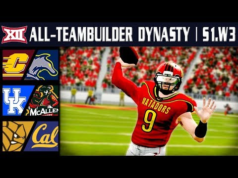 Closer Than We Thought? - NCAA Football 14 | Big 12 All-Teambuilder Dynasty | Week 3