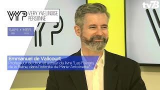 VYP. Emmanuel de Valicourt, professeur de droit et auteur aux éditions Tallandier