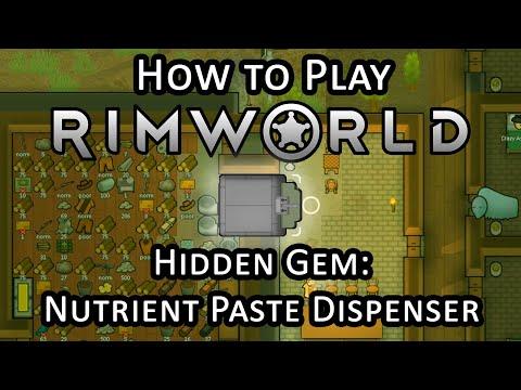 The Best Rimworld Item: A Nutrient Paste Dispenser! - YouTube