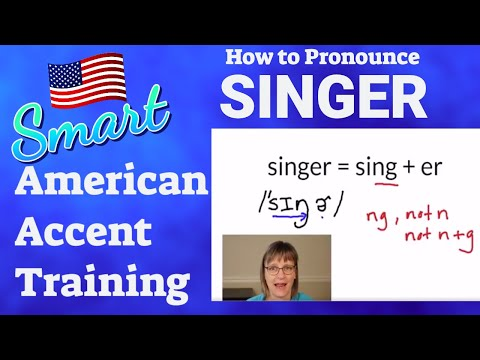 How To Pronounce Singer