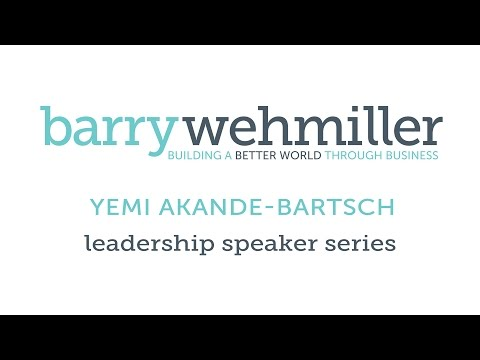 Yemi Akande-Bartsch at the BW Leadership Institute