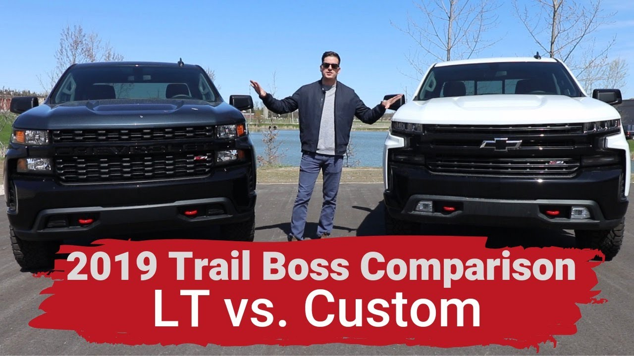 2019 Silverado Custom Trailboss Vs Lt Trailboss Explained Youtube