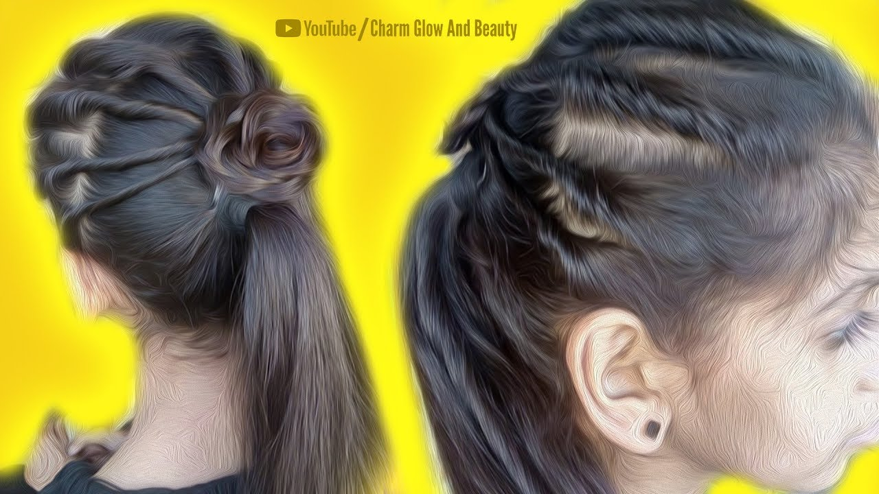 Super Simple Hairstyle For Girls Easy Women Hairstyles For Party