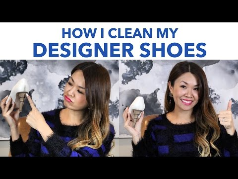 How To Clean Designer Shoes - Tip & Tricks