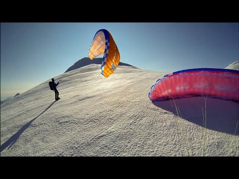 Paragliding From Jungfrau - 4158m (Switzerland, 2015)