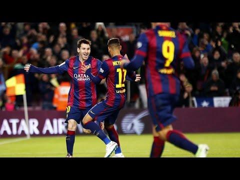 Con un golazo de Messi, el Barcelona goleó 4-0 a La Coruña