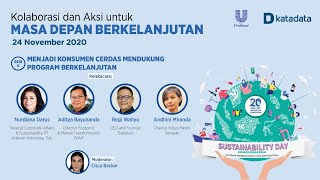 Sesi 5 Unilever Katadata: Sustainability Day 2020