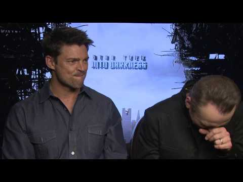 Karl Urban and Simon Pegg talk about pranks on set of Star Trek