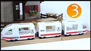 Brio Mega Quality Railway Train Toys Demo, Boats & Trucks! Learn English Numbers (3) Learn To Count