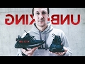 Unboxing и обзор adidas Yeezy 350 V2 Black/Red + NMD R2