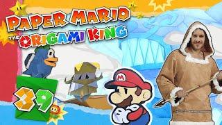 Der EIS-PERGAMENTON TEMPEL 📃 PAPER MARIO: THE ORIGAMI KING #39