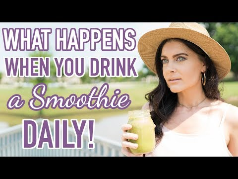 What Will Happen If You Start Drinking THIS Smoothie Every Day for a Month!   Healthy Smoothies