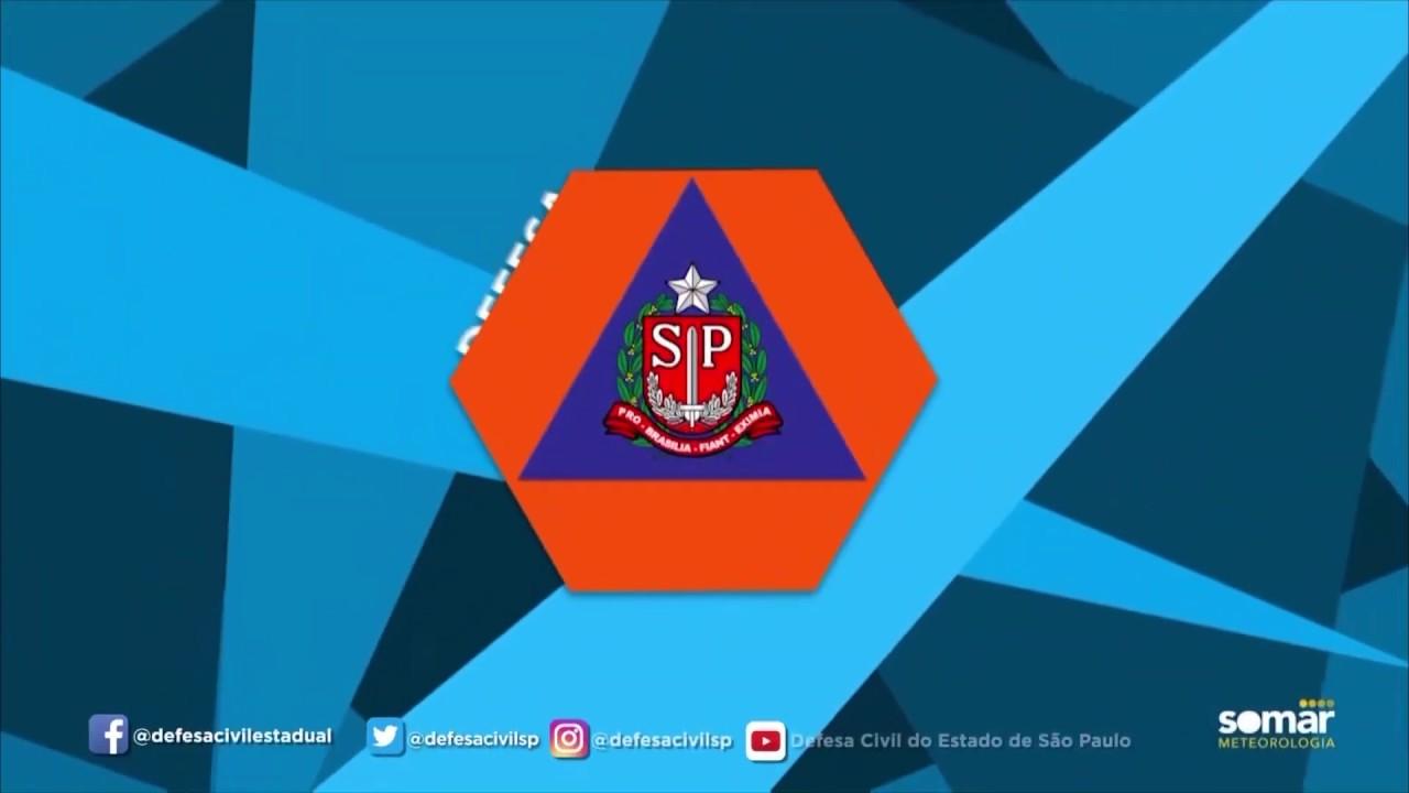 Defesa Civil Do Estado De São Paulo Previsão Do Tempo 19