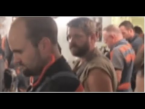 WATCH WEST VIRGINIA COAL MINER'S EPIC  PRO AMERICA MOVE CAUGHT ON TAPE!