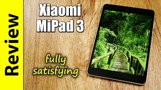 Xiaomi MiPad 3 | fully satisfying